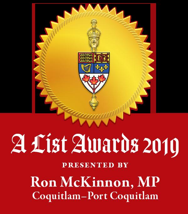 A List Award badge